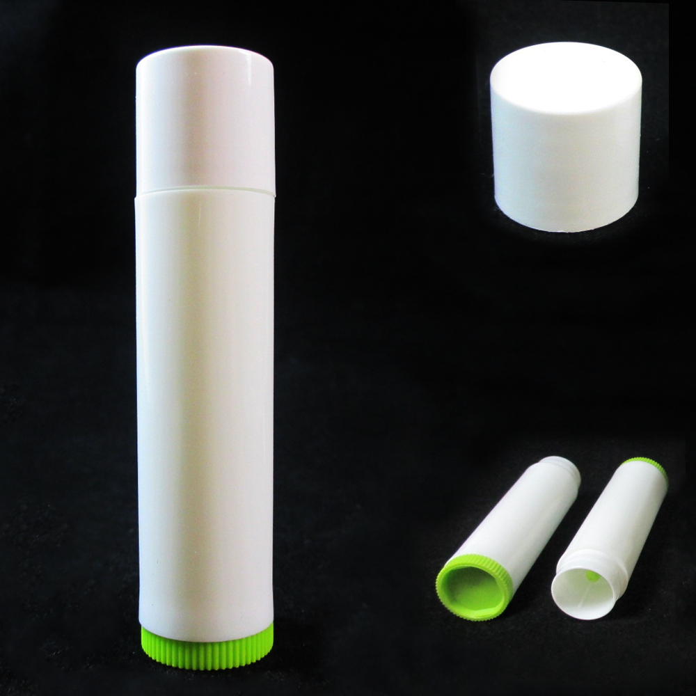 100 Lot Empty Lipstick Lip Balm Container Tube Case Caps Jars Chapstick BPA Free