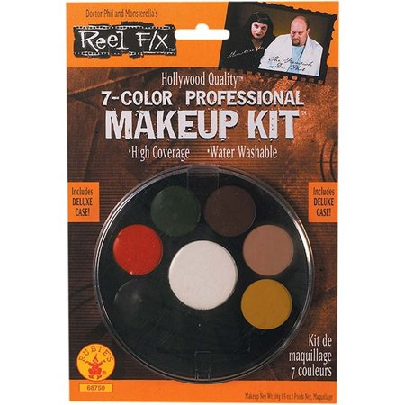 7 Color Professional Makeup Kit Reel F/X Halloween Costume Makeup, Manufactured by Rubies Costume Company By Rubie's Costume Co (Professional Halloween Makeup Artist)