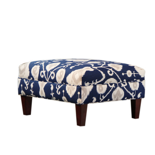 Carolina Accents Briley Ottoman by
