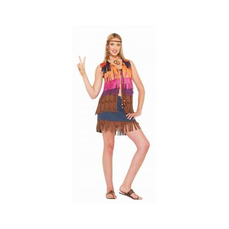 HIPPIE FRINGED VEST - Hippy Vest