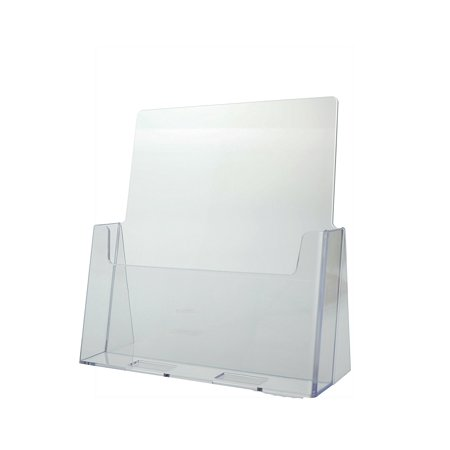 6 Pack CLEAR ACRYLIC BROCHURE HOLDER 8-1/2