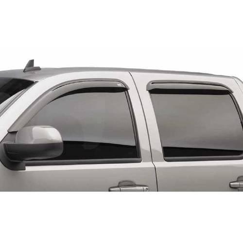 Egr 04-13 F150 Std/Ext/Crew Cab 2-Piece In Channel Slimline Windowvisors, Dark Smoke