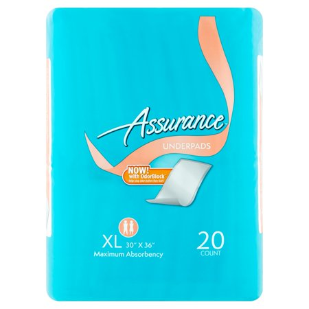 Assurance Incontinence Pads Unisex  Maximum  Xl  20 Ct