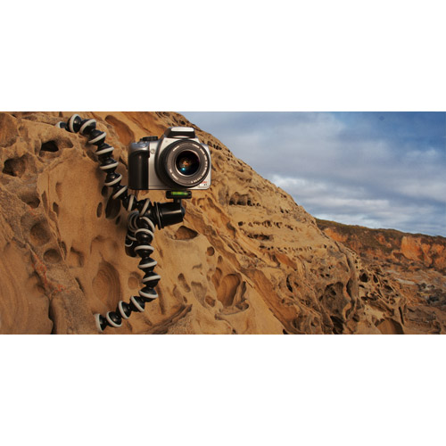 "Joby Gorillapod GP3-BHEN Mini Flexible Tripod - 4.70"" to 11.70"" Height - 6.60 lb Load Capacity"