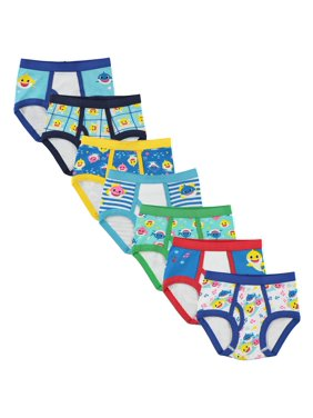 Baby Shark Brief Underwear, 7-Pack (Toddler Boys)