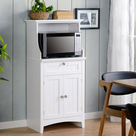 OS Home and Office Microwave Kitchen Cart