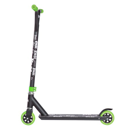 KOBE EDGE Kick Pro Scooter 2 Wheel - Reinforced Steel - Curved T-bar - Teens, Kids 5-yo and above - Green - image 3 de 11