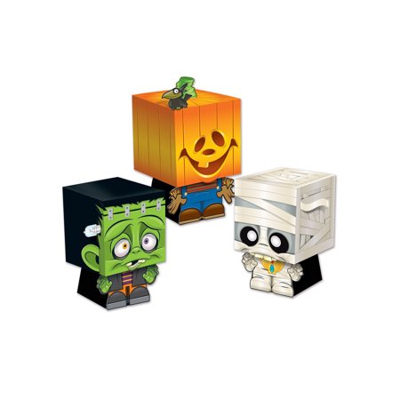Halloween Ghoulies Favor Boxes (3 Pack) - Party Supplies - Ro Halloween Box