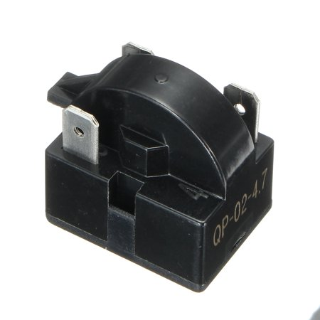 Refrigerator Start Relay PTC Fit QP2-4R7 4.7 Ohm 3-Pin Vissani Danby Compressor