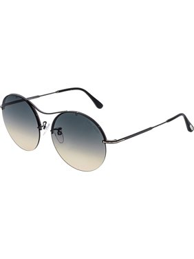 177e7129ff1 Product Image Tom Ford Women s FT0565-08B-58 Black Round Sunglasses