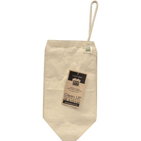 ECOBAGS Lunch Bag - Recycled Cotton - 10 Bags - Diy Lunch