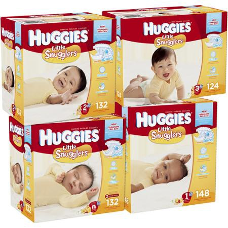 Baby Diaper Huggies Tab Closure Size 2 Disposable ''Case of 128'' by HUGGIES