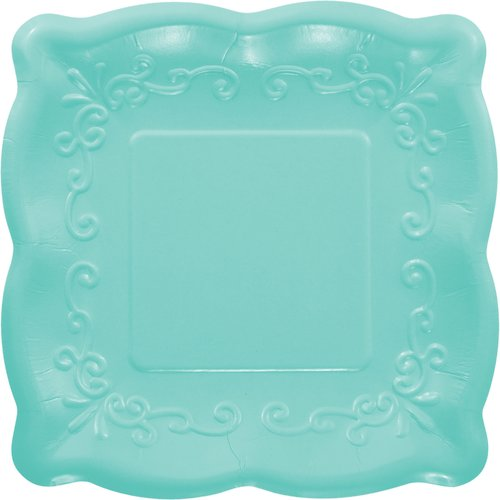 Creative Converting Square Paper Disposable Dessert Plate (Set of 24)