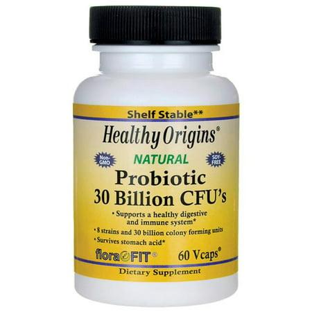 Healthy Origins Probiotic - Healthy Origins, Probiotic, 30 Billion CFU's, 60 Vcaps(pack of 4)