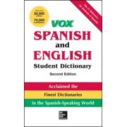 Vox Dictionaries: Vox Spanish and English Student Dictionary (Hardcover)