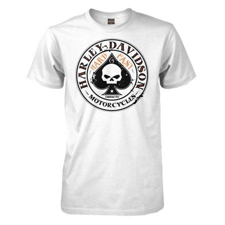Harley Davidson Men 39 S Spade Willie G Skull Logo Short