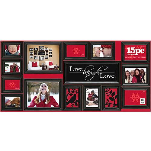 Fast Track Love 15 Piece Frame Set Walmartcom