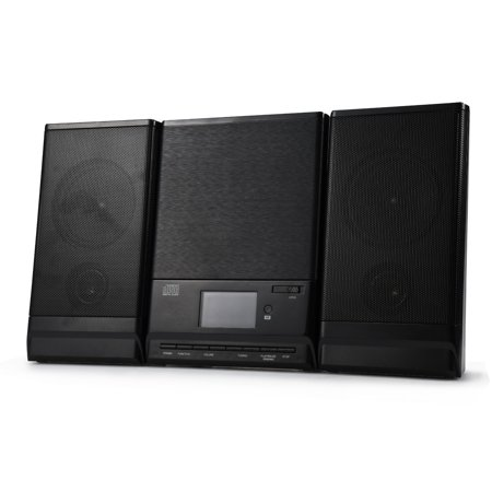 Onn Mini CD Stereo System With Bluetooth FM Radio And Remote Control