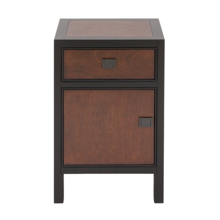 Decmode Contemporary 26 X 16 Inch Wooden Night Stand ()