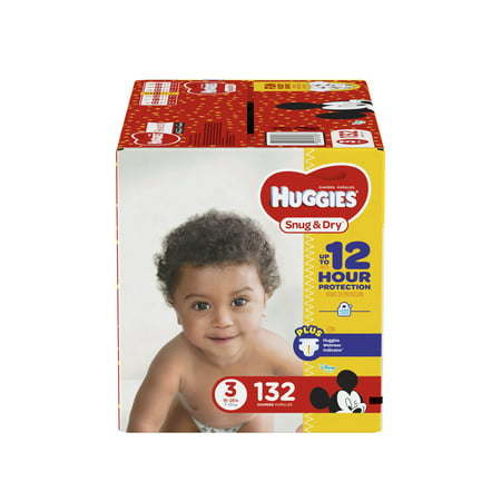 HUGGIES Snug & Dry Diapers (Choose Size and Count) (Infants Converse Sale)