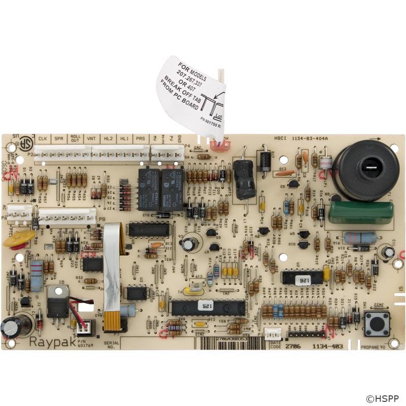 PCB, Raypak 185/207A/206A/R185A, IID