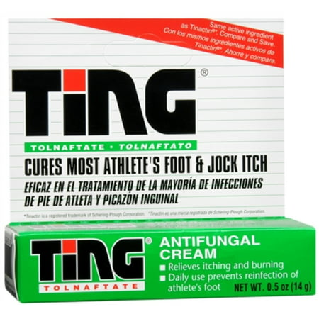 Ting Antifungal Cream 0.50 oz (Pack of