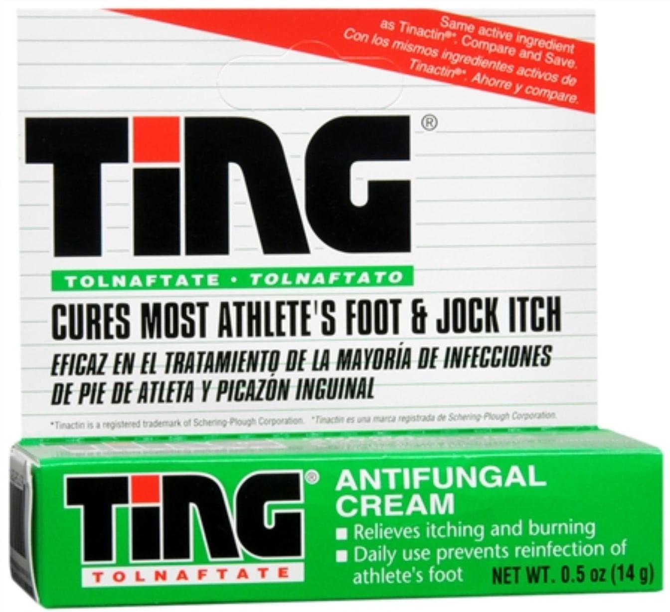 Ting Antifungal Cream 0.50 oz (Pack of 4)