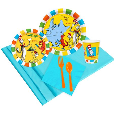 Dr. Seuss Favorites Party Pack for 24 - Dr Seuss Party Decorations
