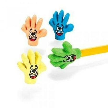 Rubber High Five Eraser Toppers (2 dz)