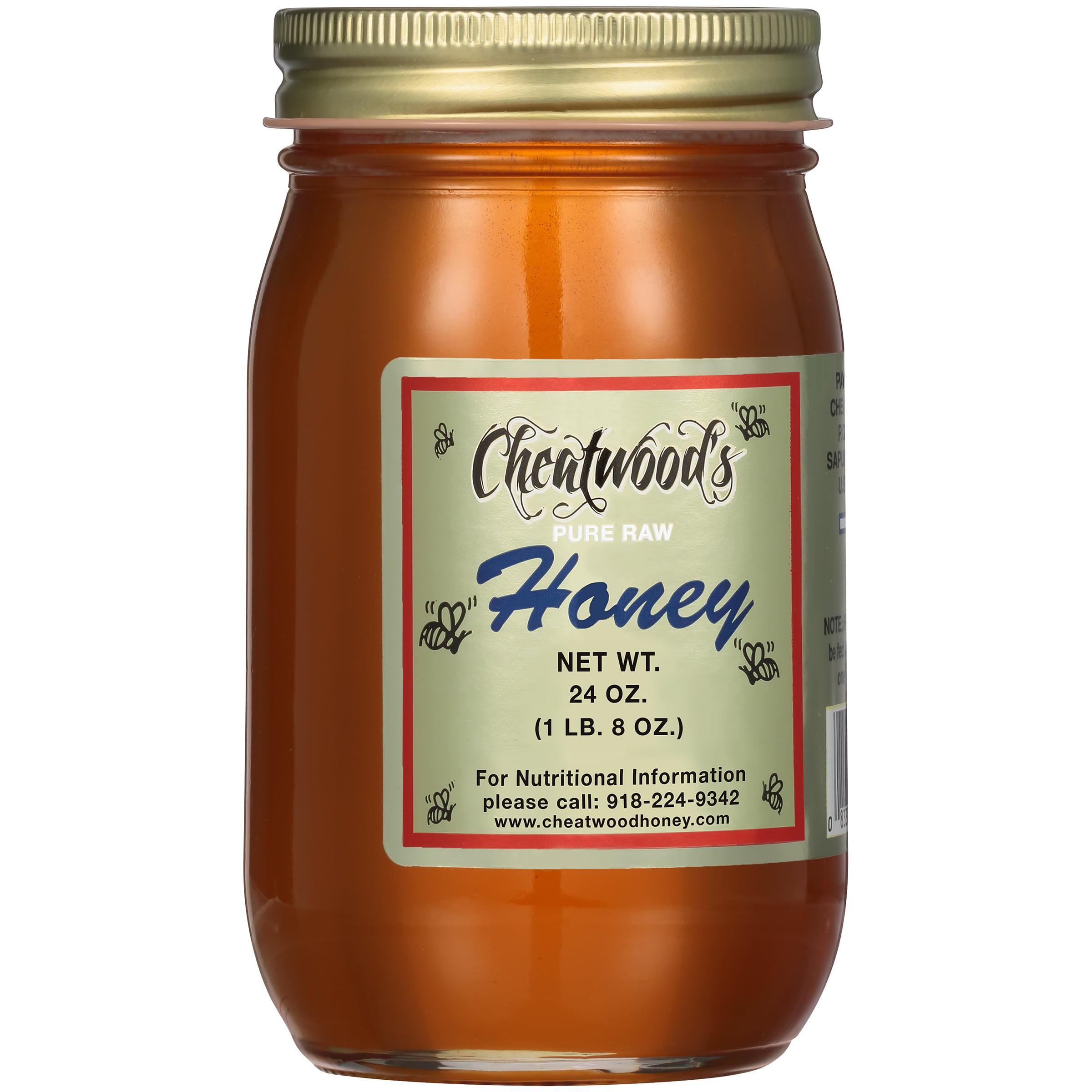 Cheatwood's Pure Raw Honey 24 oz. Jar by Cheatwood Ltd.