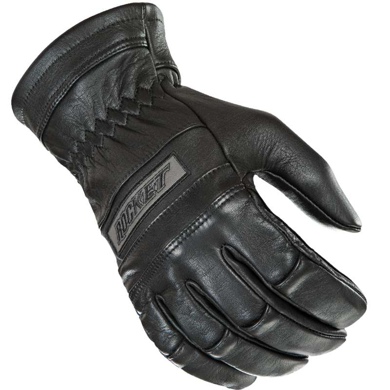 Joe Rocket Classic 2014 Leather Gloves Black/Thick Fit