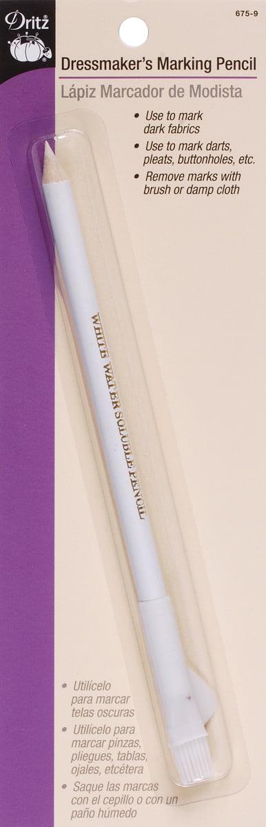 Dritz 675-9 Dressmakers Marking Pencil White