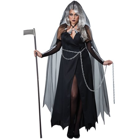 Lady Reaper Plus Size Costume (Women's Lady Reaper Costumes)