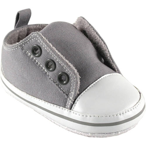 Luvable Friends Newborn Baby Neutral Laceless Sneakers