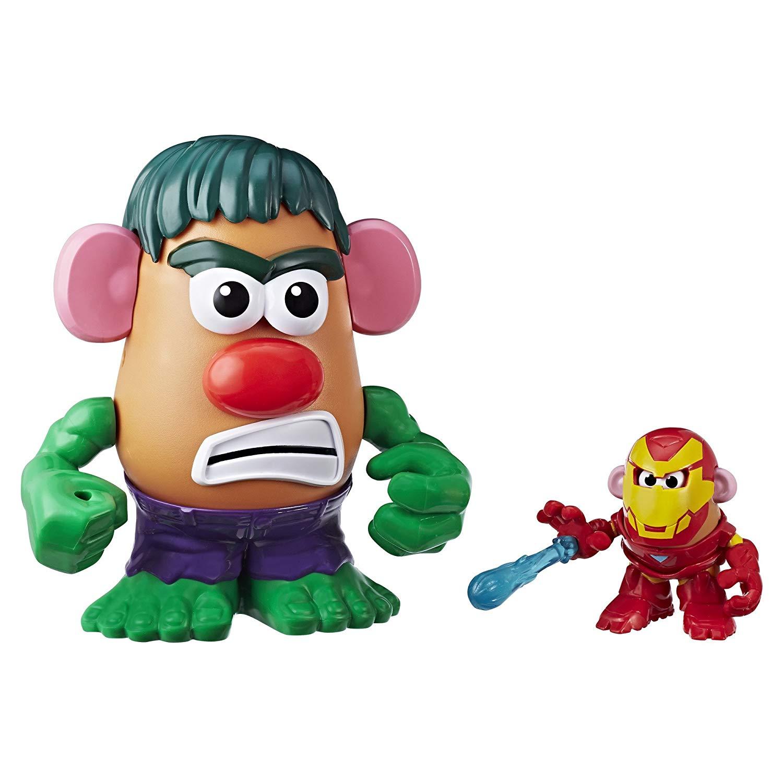 Mr. Potato Head Marvel Agents of S.P.U.D. Pack Iron Man & Hulk - 15 Pieces