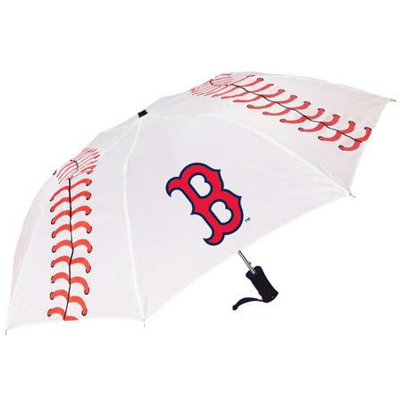 Storm Duds Boston Red Sox Baseball Folding Umbrella - No (Boston Red Sox Umbrella)