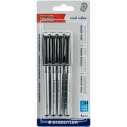 Cool Roller Rollerball Pens 4/pkg-black