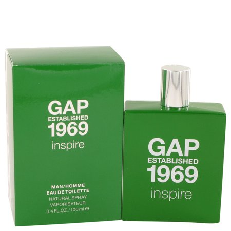 Gap 1969 Inspire by Gap Eau De Toilette Spray 3.4 oz for (New Mens Gap)