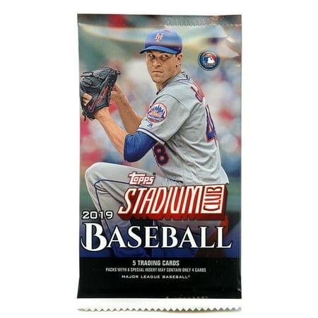 MLB 2019 Baseball Stadium Club Trading Card Pack [5