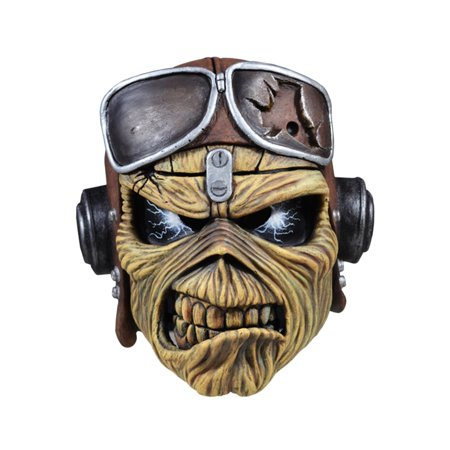 Iron Maiden Adult Aces High Eddie Mask Halloween Costume Accessory