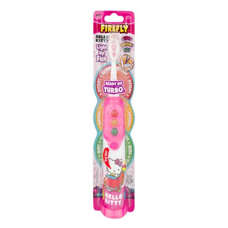 Firefly Hello Kitty Ready To Go Turbo™ Toothbrush, Soft - Fire Flys