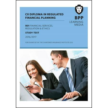 Cii R01 Financial Services Regulation