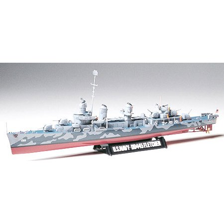 Tamiya 78012 US Navy WWII Fletcher Class Destroyer 1/350 Scale Plastic Model Kit Us Navy Destroyer