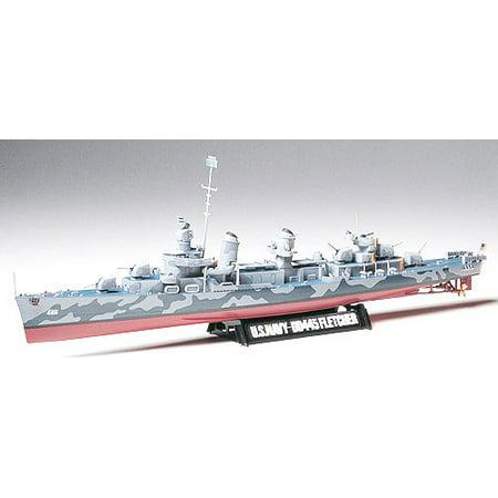 - Tamiya 78012 US Navy WWII Fletcher Class Destroyer 1/350 Scale Plastic Model Kit