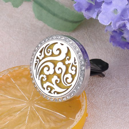 Crystal Diffuser - Car Air Vent Clips Clouds Crystal Aromatherapy Essential Oil Diffuser Locker