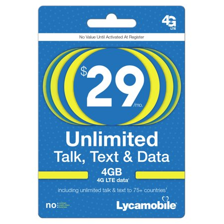 Lycamobile $29 (Email Delivery)