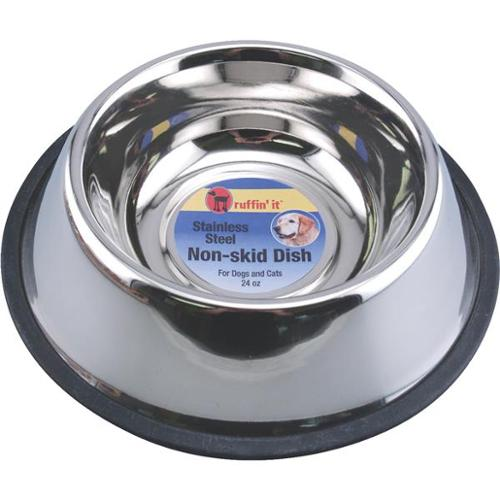 Westminster Pet 24oz No-Skid Stainless Steel Pet Bowl 19124