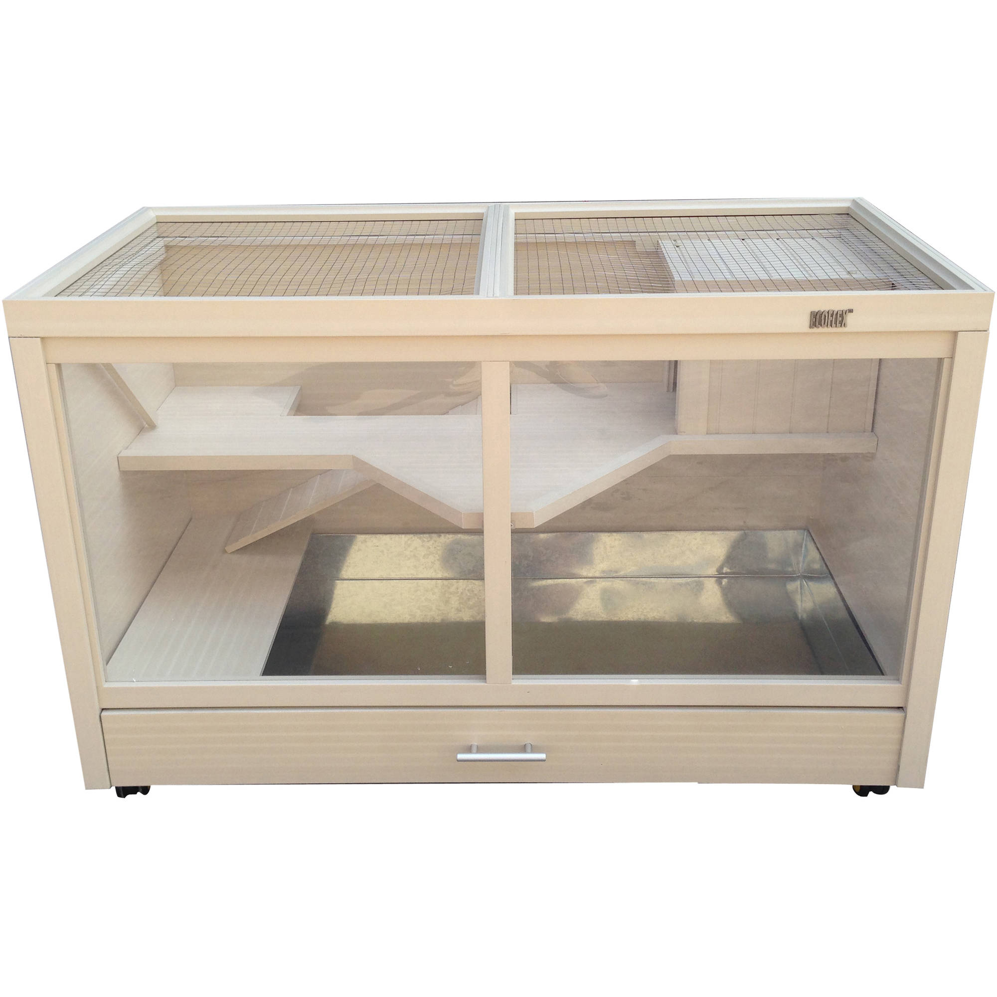Pinta New Age Pet ecoFLEX Park Avenue Indoor Rabbit Hutch