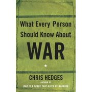 What Every Person Should Know About War - eBook