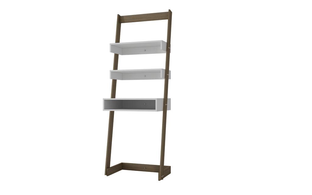 Bush Alamosa Collection Ladder Desk Black